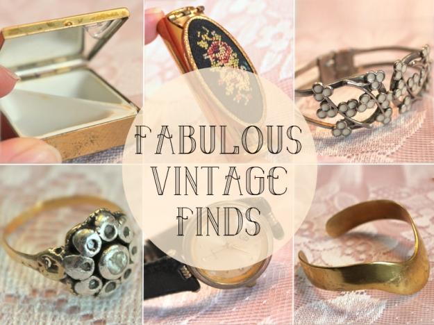 fabulous vintage finds