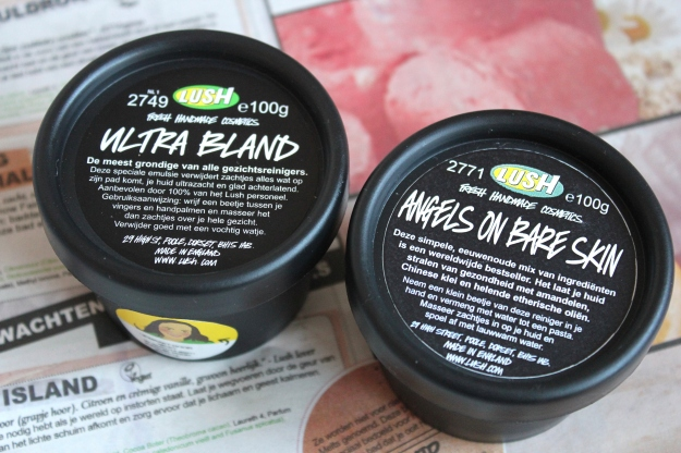 Lush Ultra Bland Angels on Bare skin
