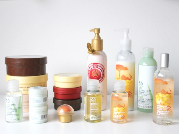 the body shop collectie